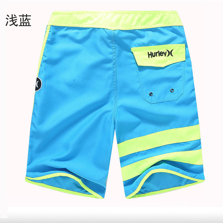 2016 Custom Quick Dry Colorful 100% Polyester Beach Short Pants Men Swim Shorts