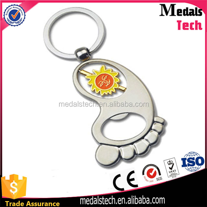 Most popular high quality low price rectangle shape printing cheap custom metal keyring for souvenir