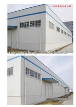 corrugated steel buildings construction big span steel structure warehouse design