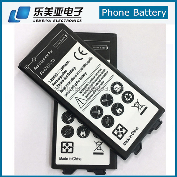 2800mah Mobile Phone Battery For LG G5 H868 H860N F700LS BL-42D1F Battery