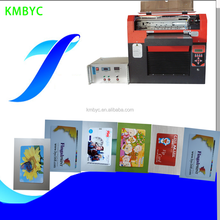 Transparent card printer/pvc business card surface printing machine made in china