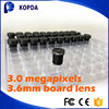 fixed 3.6mm M12X0.5 Mount board ccd camera lens