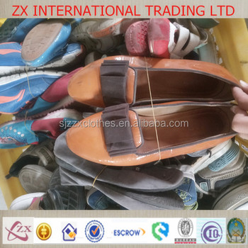 clean and storted used shoes in Europe with high quality