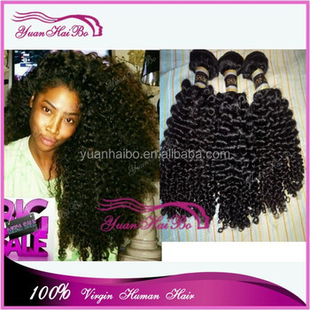 best sellers of 2015 100 human hair weaves cheap mongolian kinky curly hair in south africa