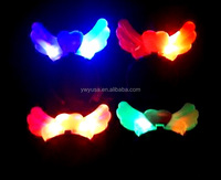 Promotional Christmas led hairbands led angel wings crown hair bands