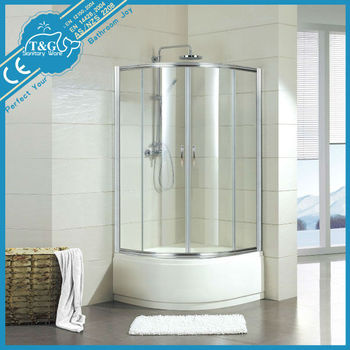 Round Tempered Glass Shower Enclosure