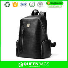 genuine leather pu backpack leather