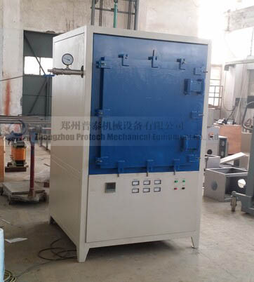laboratory inert gas muffle furnace for ceramic sintering