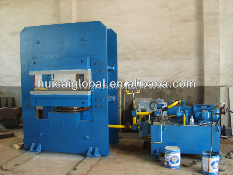 solid tyre vulcanizing machine/rubber vulcanizing with factory price/800*800