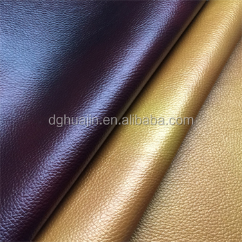 High Quality Synthetic Leather Fabric for Sofa, Car Seat