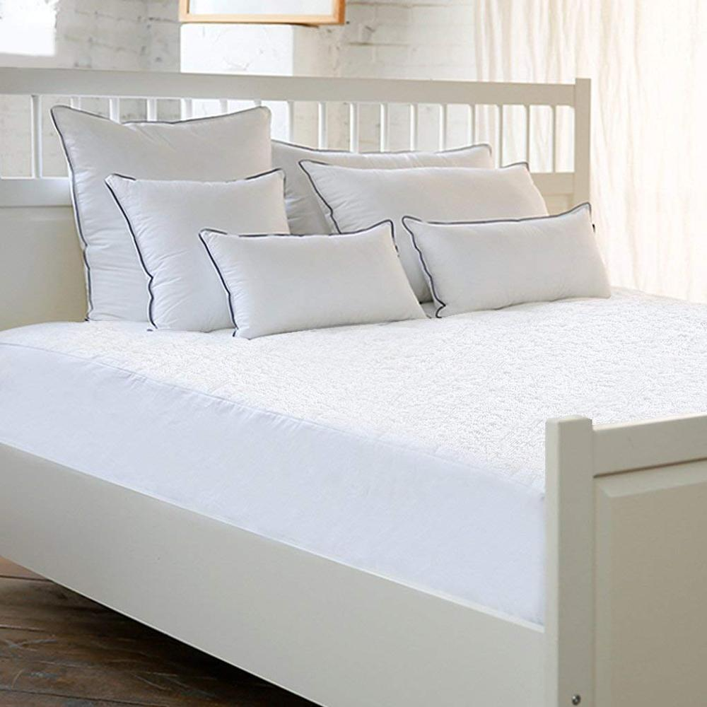 Hypoallergenic Waterproof White Color Mattress Protector/Cover - Jozy Mattress | Jozy.net
