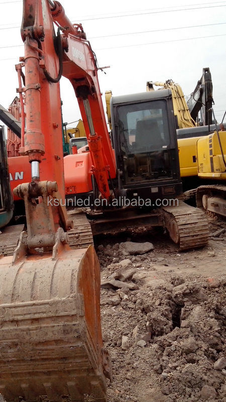 Low/Cheap Price 8ton excavator for sale,Good Condition/High quality proved used Doosan DH80-7 DH90-7Crawler excavator/