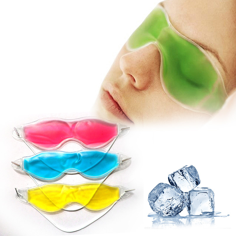 Eyemask Gel Essential Beauty Ice Remove Dark Circles Relieve Eye Fatigue Eye Masks collagen eye mask patch Massage Relaxation Z3