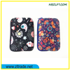FANCY PRINTED NEOPRENE BAG FOR IPAD MINI / LAPTOP PACKAGE WITH ZIPPER CLOSURE