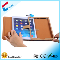 Most new arrival best quality pu leather for iPad mini case ,smooth leather case for ipad 5