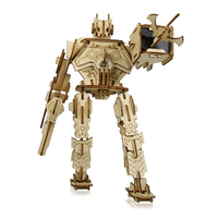 Robot Warrior 3D Wood Jigsaw Puzzle