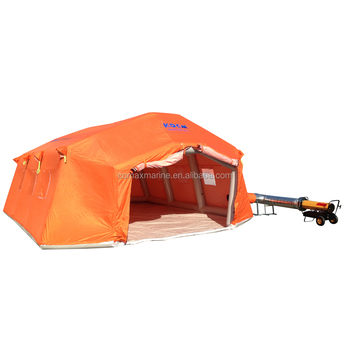Inflatable tent with large space,