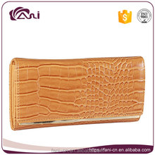 Fani designer snake skin leather clutch coin purse