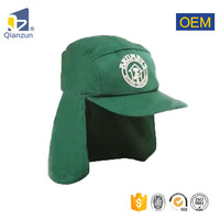 Wholesale Promotional Sun Cap Flap Back Hat