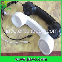 Pop waterproof cell phone handset for mobile phone designed