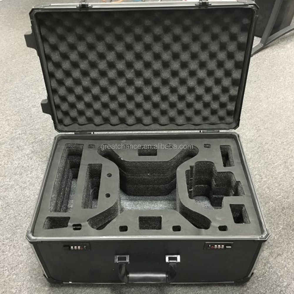 Aluminum Rolling luggageHard Case Travel Carry Case Box For DJI Phantom 3 Copter