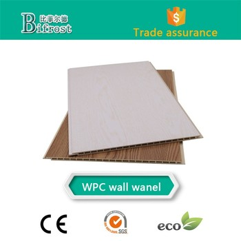 WPC wall cladding / interior decoration ceiling panel