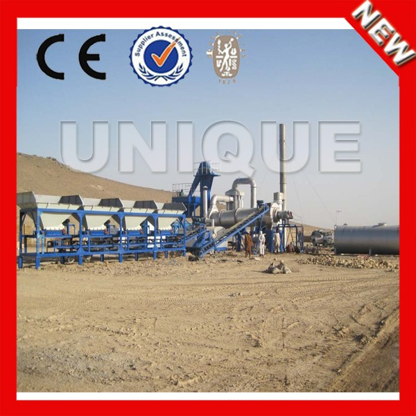 DHB80 80t/h mobile road construction equipment small hot mix asphalt plant price