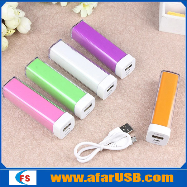 Portable mobile power bank Manufacturer wholesale universal power bank 2000 1800mah 2200mah 2600mah 3000mah