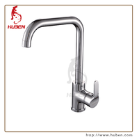 Good Quality Best brass deck down Single Level Upc Kitchen Faucet