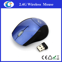 2.4g driver mini cute wireless optical mouse