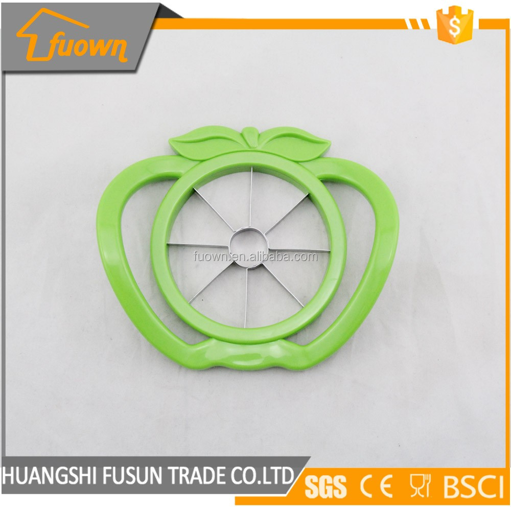 High quality fruit cutter plastic apple slicer with SS blade