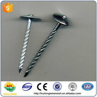 high quality Galvanized Roofing Nails With Plain Shank