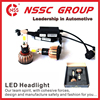 NSSC truck car driver headlightt conversion Kit high low 6000K car driving led headlights assembly