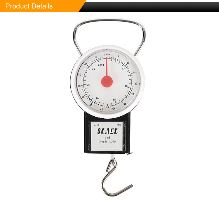 Used in vegetable market, express weighing, supermarket weighing mini spring scales mechanical scale