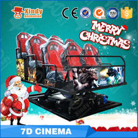 Fashion Modern truck mobile 5d cinema theater truck mobile 5d cinema 6d cinema truck mobile 5d