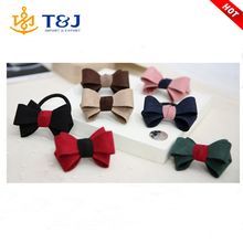 In stock No MOQ / High quality of a simple design women hair accessories , braided bow hair ring