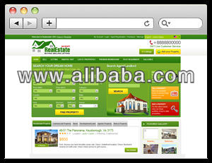 real estate classified listing software for Property, Land and Homes for Sale, lease and rent PHP Real Estate Script