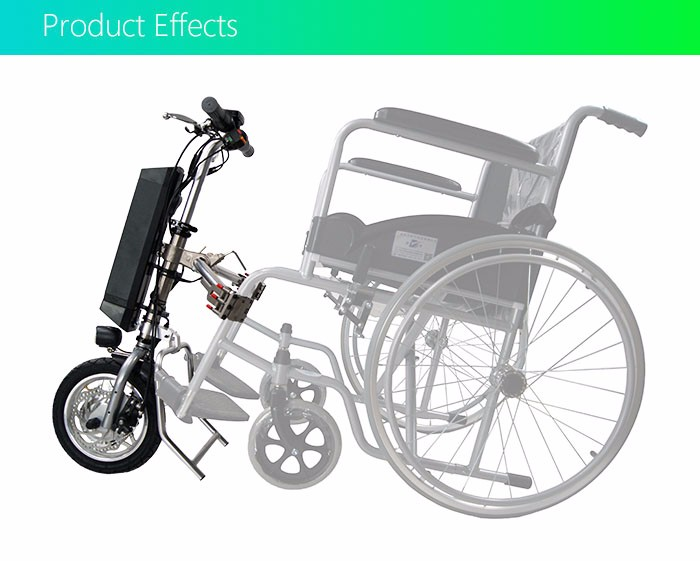 36v 250w attachments electric handcycle electric wheel chair kit