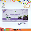100%Pure Additive-free Fruit Tea Blueberry Black Tea Extract