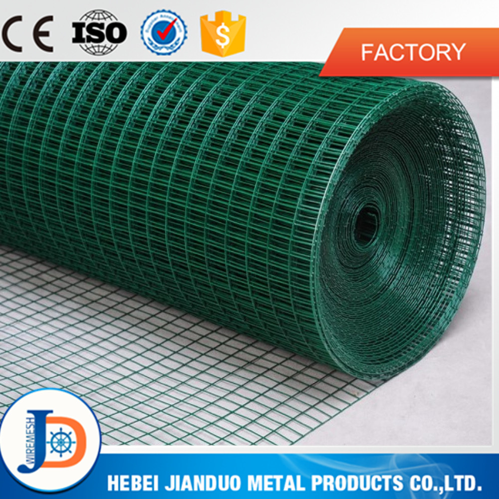 1/2 inch plastic coated welded wire mesh / 1.5 inch welded wire mesh
