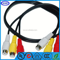 2015 High-quality europe and america scart to rgb rca cable From China factory hot selling
