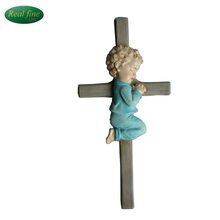 Home decoration resin handmade wall crosses