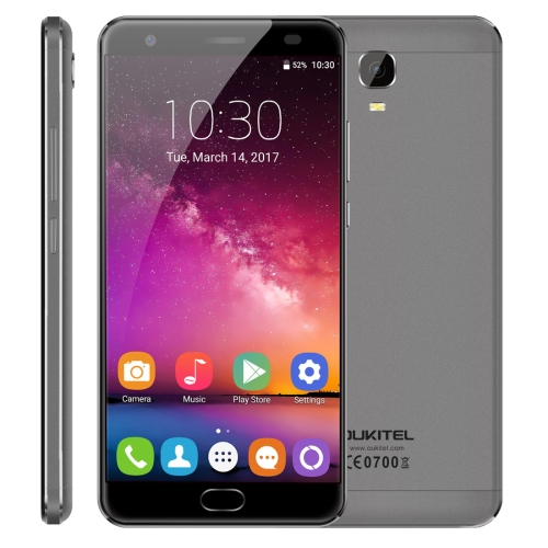 Original OUKITEL K6000 Plus 64GB Android 7.0 Smart phone MTK6750T Octa Core 5.5 inch 4GB RAM 6080mAh Cat6 dual sim SMART PHONE