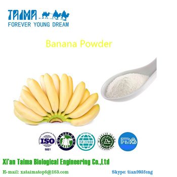 GMP factory 100% natural High Quality Banana Powder,Banana Fruit Powder With Wholesale Price