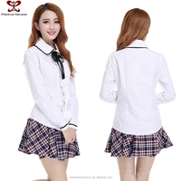Fashion Two Piece Dress Uniform Girls Sex Hot Images Schol Hot Teacher Sexy Dress
