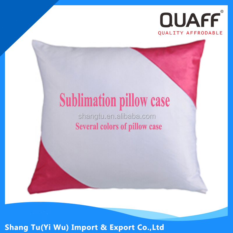 Square sublimation blank pillow case for printing