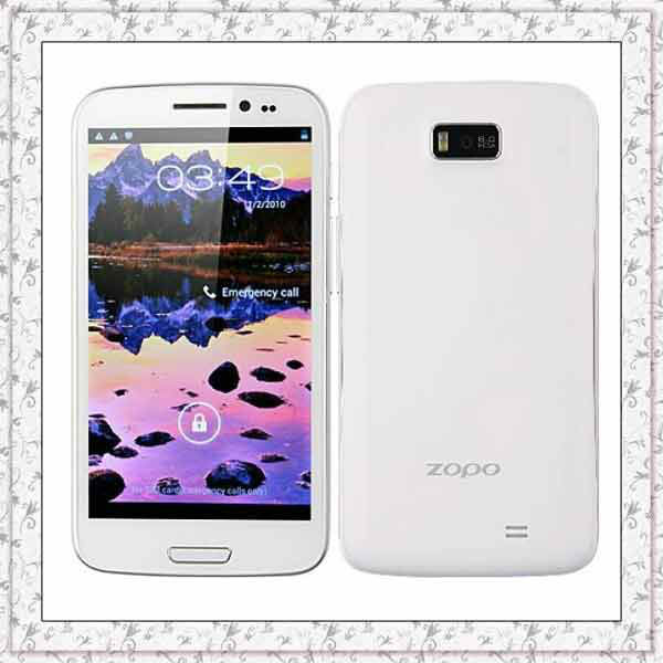ZOPO ZP910 Quad Core 5.3 inch IPS Android 4.1 Unlocked MTK 6589 1GB/4GB GPS Bluetooth GPS Wifi 10MP Camera Dual SIM Phone