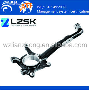 Toyota Hilux VIGO 43211-0K030 43212-0K030 Auto Steering Suspension Parts Front Spindle Knuckle Forged Steel Steering Knuckle