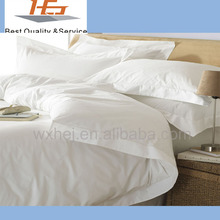 100% cotton white hotel bed sheets sets