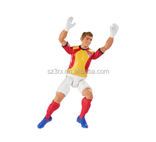 OEM Plastic UK Soccer Player Action Figure/3D Football Star Action Figure Toy/Custom Sport Player Figures Collectibles